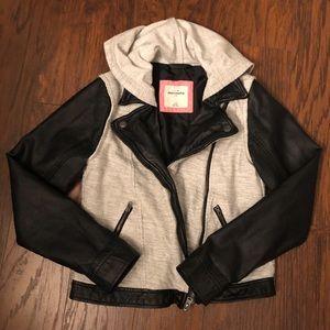 Abercrombie Kids Moto Jacket L 14